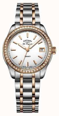 Rotary Womens les originales legacy two tone roestvrij staal LB90175/01