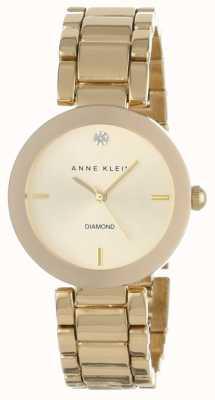 Anne Klein Vrouwen gouden toon armband gouden wijzerplaat AK/N1362CHGB