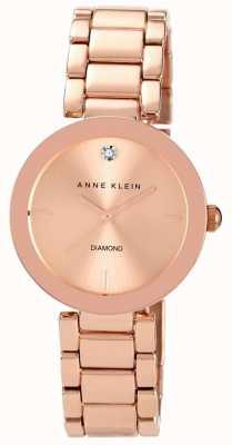 Anne Klein Womens roos gouden toon armband rose gouden wijzerplaat AK/N1362RGRG