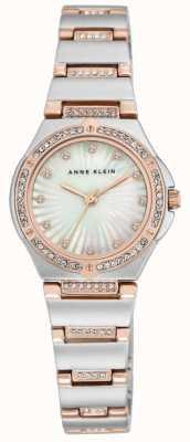 Anne Klein Vrouwen twee toon armband Moeder van parelwiel AK/N2417MPRT