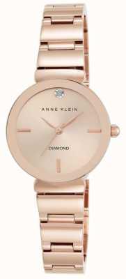 Anne Klein Womens roos gouden toon armband rose gouden wijzerplaat AK/N2434RGRG
