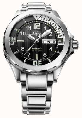 Ball Watch Company Mens ingenieur meester ii duiker automatisch roestvrij staal DM3020A-SAJ-BK