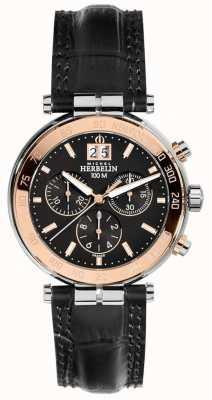 Michel Herbelin Mens newport roos chronograaf 36654/TR14
