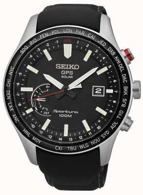 Seiko Sportura gps eeuwige zonne-chronograaf SSF007J1
