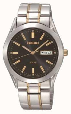 Seiko Mens zonne armband horloge SNE047P9