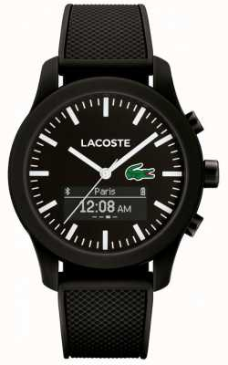 Lacoste Mens 12.12 bluetooth slimme horloge groen zwart 2010881