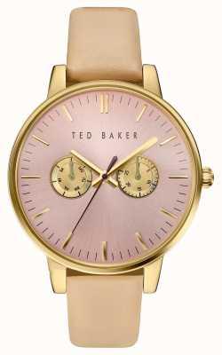 Ted Baker Womans multifunctionele wijzerplaat gouden hoesje TE10030750