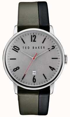 Ted Baker Heren roestvrij stalen behuizing grijs TE10030757