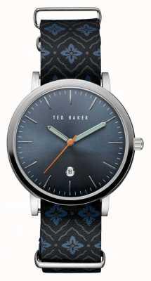 Ted Baker Mens roestvrij stalen hoesje blauw TE10030767