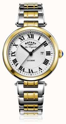 Rotary Womans luzerne two tone zilver goud LB90188/01/L
