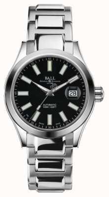 Ball Watch Company Mens ingenieur ii automatische roestvrijstalen zwarte wijzerplaat NM2026C-S6-BK