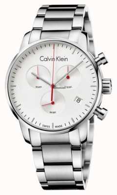 Calvin Klein Heren roestvrij staal stad chronograafhorloge K2G271Z6