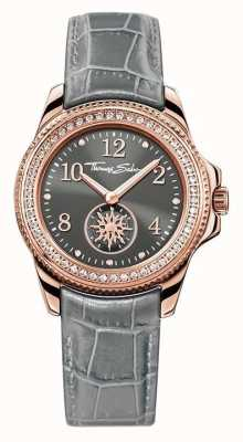 Thomas Sabo Ladies glam chique grijs leer WA0239-274-210-33