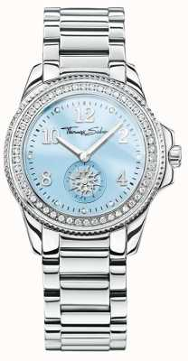 Thomas Sabo Womans glam chique roestvrij staal blauwe wijzerplaat WA0254-201-209-33