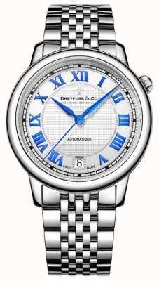Dreyfuss Ladies roestvrij staal 1925 horloge DLB00148/01