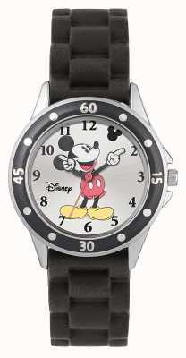 Disney Princess Mickey Mouse zwarte rubberen riem MK1195