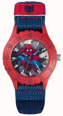 Avengers Kinder spiderman blauwe velcro band SPD3495