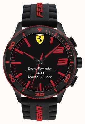 Scuderia Ferrari Mens alarm kijken zwart rood 0830375