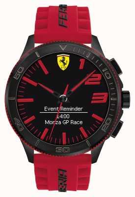 Scuderia Ferrari Mens alarm horloge rood zwart 0830376