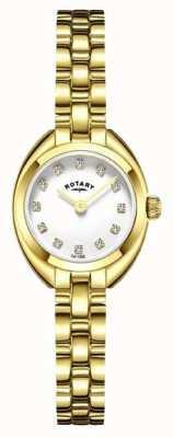 Rotary Dames armband band verguld LB05015/11