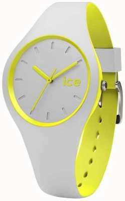 Ice-Watch Unisex duo grijze gele silicone DUO.GYW.U.S