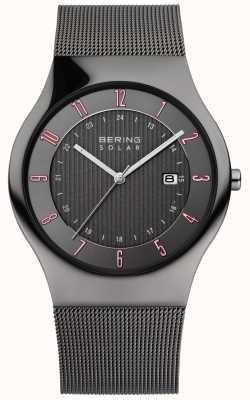 Bering Mens zonne klassiek horloge 14640-077