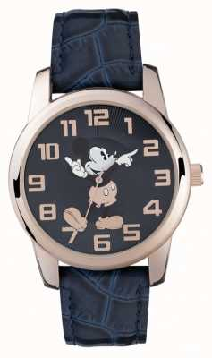 Disney Adult Mickey Mouse roos gouden hoesje blauwe band MK1456