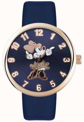 Disney Adult Minnie muis roos gouden hoesje blauwe band MN1471