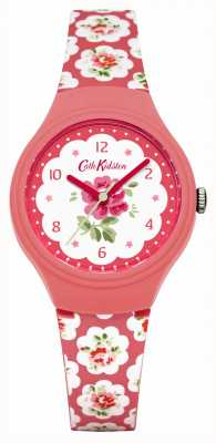 Cath Kidston Ladies provence roze roos gedrukt horloge CKL025P