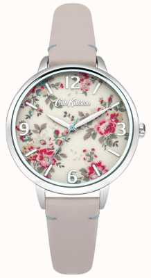 Cath Kidston Ladies kingswood steeg naakt lederen horloge CKL001PS