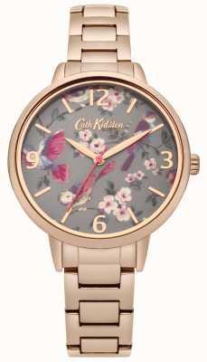 Cath Kidston Ladies britse vogels rose gouden armband CKL001RGM