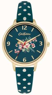 Cath Kidston Ladies briar rose groene polka dot band CKL004NG