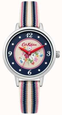 Cath Kidston Dames Clifton steeg bellen multicolour gevlochten riem CKL007US
