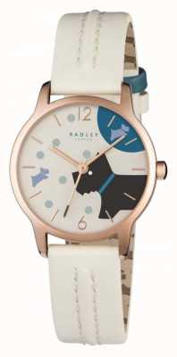Radley Over de maan blonde lederen band RY2404