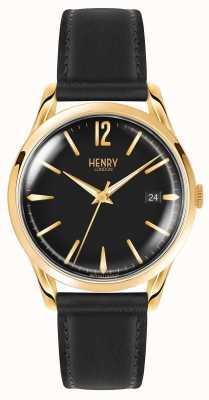Henry London Unisex black westminster HL39-S-0176