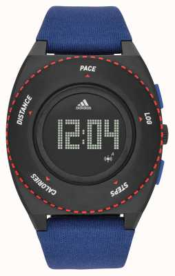 adidas Performance Mens digitale blauwe canvas riem ADP3274