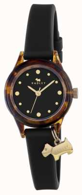 Radley Black silcone strap RY2324