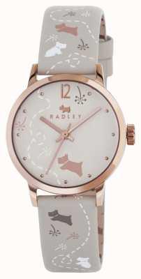 Radley Afgedrukt band horloge RY2342