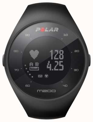 Polar Unisex zwarte m200 gps pols hr m / l 90061201