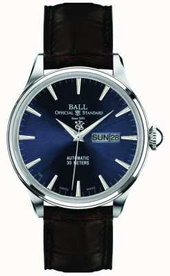 Ball Watch Company Eeuwigheid Blue Dial Trainmaster NM2080D-LJ-BE