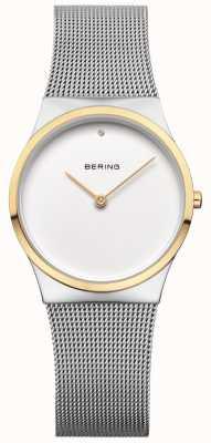 Bering Womans klassieke mesh gouden detail 12130-014