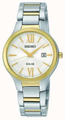 Pulsar Dames two tone jurk horloge PH8284X1