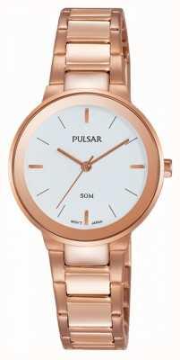 Pulsar Dames rose goud verguld horloge PH8290X1