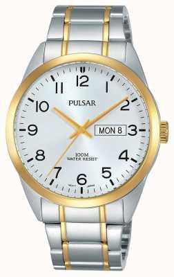 Pulsar Heren two tone horloge PJ6064X1