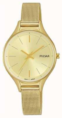 Pulsar Dames vergulde horloge PH8278X1