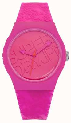 Superdry Womans stedelijke roze silicone SYL169P