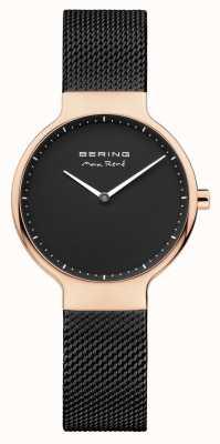 Bering Dames max rené verwisselbare maasband zwart 15531-262