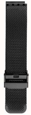 Bering Milanese zwarte mesh-band voor heren PT-15540-BMBX
