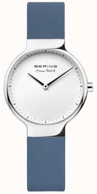 Bering Dames max rené verwisselbare blauwe rubberen riem 15531-700