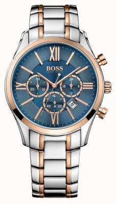 Hugo Boss Gents ambassadeur roestvrij stalen horloge 1513321